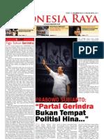 Tabloid Gema Indonesia Raya (April 2011)