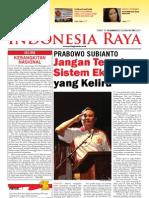 Tabloid Gema Indonesia Raya (Mei 2011)
