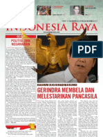 Tabloid Gema Indonesia Raya (Oktober 2011)