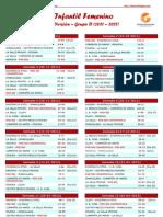 2ª División Infantil Femenina 2011-12