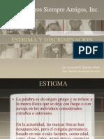 ESTIGMA Y DISCRIMINACION Para Técnicos de Educación