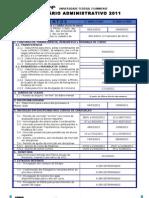 Calendário Administrativo 2011