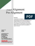 Shaft Alignment Pre Alignment