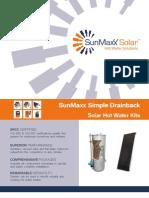 Product Brochure - Simple Drainback Pre-packaged Kit