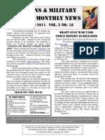 Veterans & Military Families Monthly News-November 2011