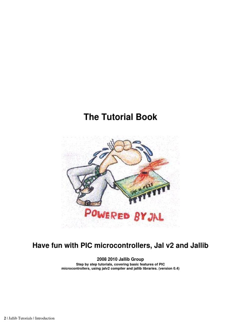 Tutorial Book 04 Pic Microcontroller Analog To Digital Converter Figure 1 Pic18f452 Led Blinking Circuit