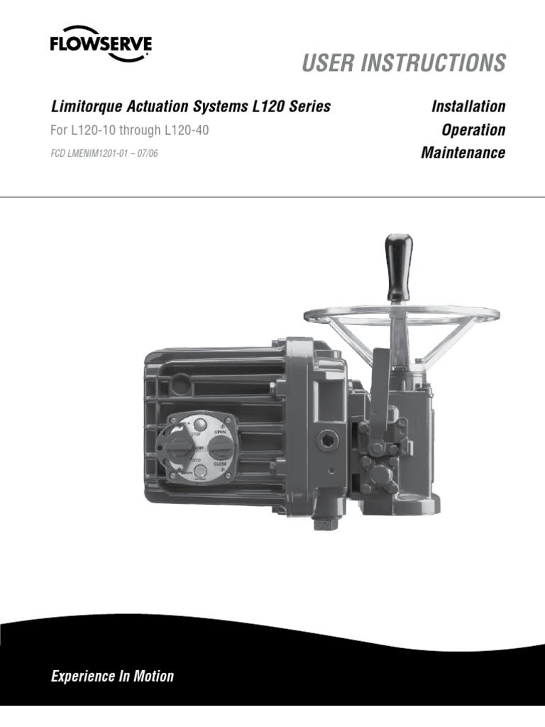 Limitorque L120 Wiring Diagram 40 - Trusted Wiring Diagram