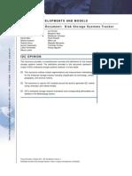 IDC Taxonomy Document - Disk Storage Systems Tracker Oct 2011