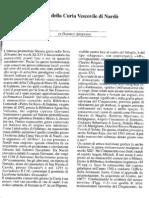 Il meneo della Curia Vescovile di Nardò, in «Spicilegia Sallentina», 2 (dicembre 2007), pp. 77-80