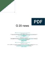 G 20 news