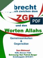 Sara Mahmoud-Islamisches Erbrecht Und ZGB