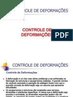 Controle de Deformações - cap.7