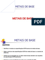 Metais de Base - Cap.8