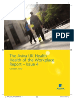 Aviva Health of the Workplace Report - 4 Oct 2010