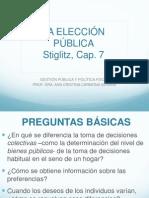 Present LA ELECCIÓN PÚBLICA
