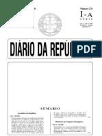 LEI 108-2001 CORRUPÇÃO