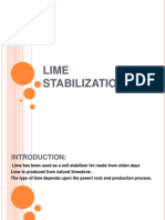 Lime Stabilization