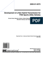 Hybrid Transmission for FWD Vehicles
