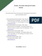 A Auditoria de Fraudes - Prevencao e Deteccao de Fraudes Internas