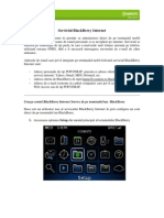 Serviciul Blackberry Internet