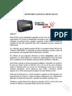 Caracteristicas Sistema Monitoreo MICRO TRACK