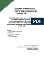 Funcionalidades SIP con SS7 2011NOV06