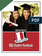 Student Handbook 2011