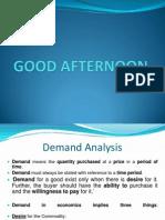 Pgdm - Demand Analysis