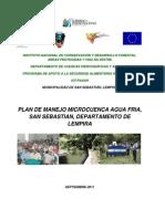 Plan de Manejo M Odelo Para Microcuenca Agua Fria