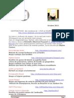 Contributions Vive La Soupe Octobre 11
