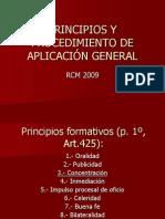 Principios y Procedimiento AH