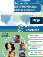 Report on SCB Customer Satisfaction