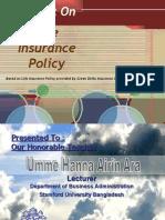 Green Delta Life Insurance at Power Point