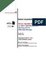 10grac r2 - Aix5l - San Storage