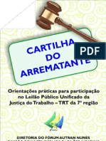 Cartilha Do Arrematante