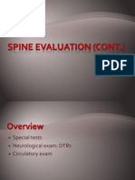 05spine Evaluation Cont