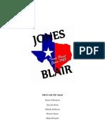 Jones Blair Paint Marketing Plan