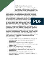 Tema de la Constitución y Estados de Autonomía