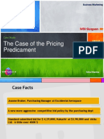 BM_Group 5A_The Case of Pricing Predicament