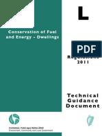TGD Part L Building Regulations 2011