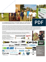 Commissions for Education 1st Annual Charity Golf Tournament