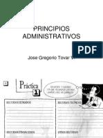 PRINCIPIOS ADMINISTRATIVOS INICIO