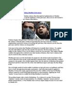 Danger of Legitimizing Muslim Grievances