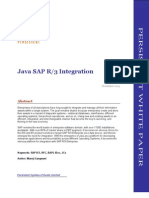 Java SAP Integration