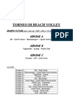 Beach Volley 2011