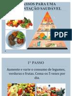10 passos para alimentação saudável
