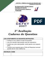 1avaliação_Procefet-2007