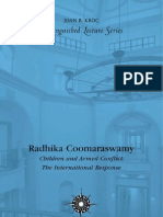 Radhika Coomaraswamy -- Children and Armed Conflict