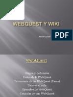 Webquest y Wiki