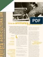 Animales en La Agricultura Urbana